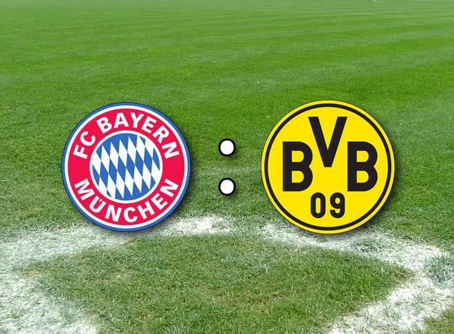 Bayern Munchen - Dortmund, formacionet zyrtare