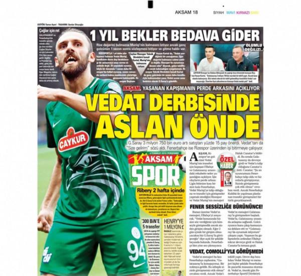 Galatasaray rrit ofertën për Muriqin