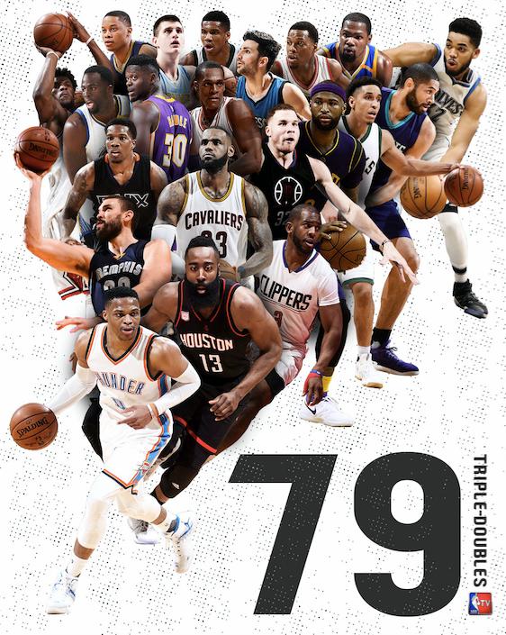Thyhet rekordi i triple-double-ve në NBA