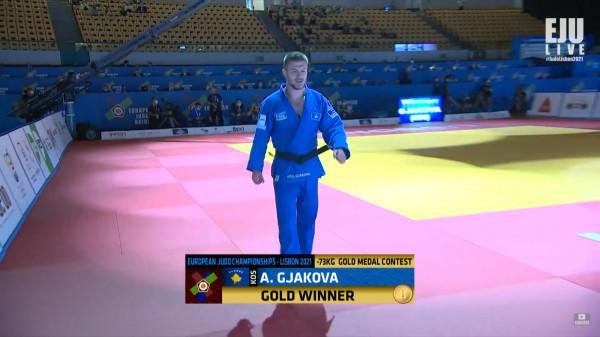 Super Akil Gjakova, fiton medaljen e artë në Evropian