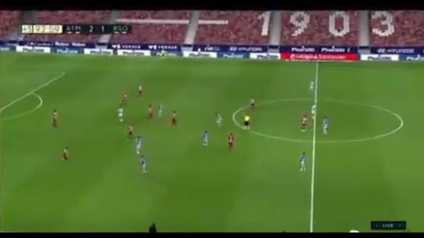 Gëzim i çmendur nga Simeone pas fitores ndaj Sociedadit (Video)