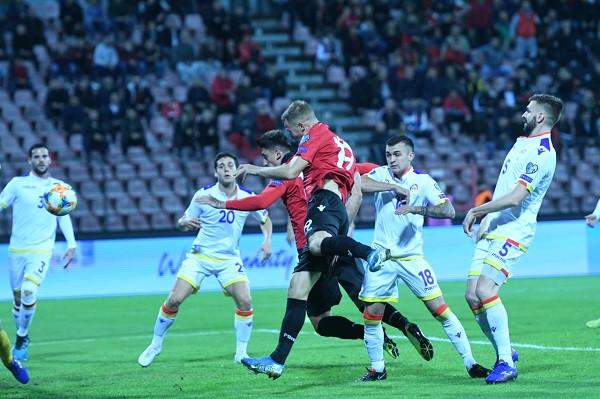 Shqipëria zhgënjen, Andorra shënon jashtë pas 9 vitesh