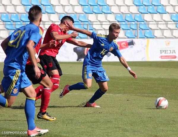 Shqipëria U19 mposhtet nga Ukraina U19