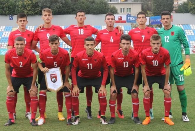 Humbje e thellë, Shqipëria U19 e fundit në grup