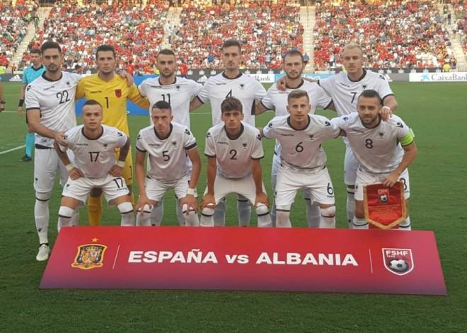 Shqipëria U21 mposhtet nga Spanja