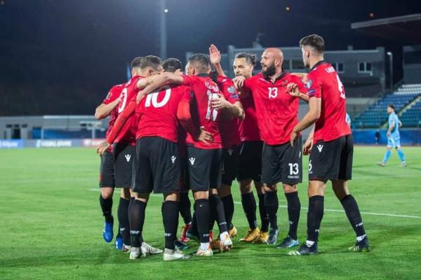 Shqipëria kryen detyrën, fiton në San Marino