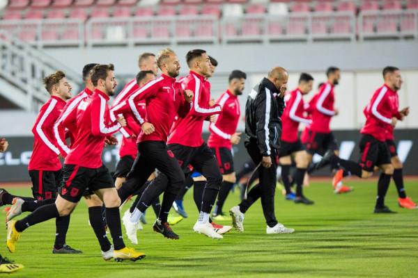11-shja e mundshme e Shqipërisë ndaj Skocisë