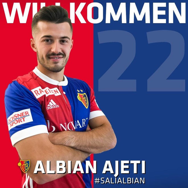 Ajeti shënon në fitoren e Basel