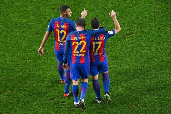 Messi me rekord, Barcelona fiton