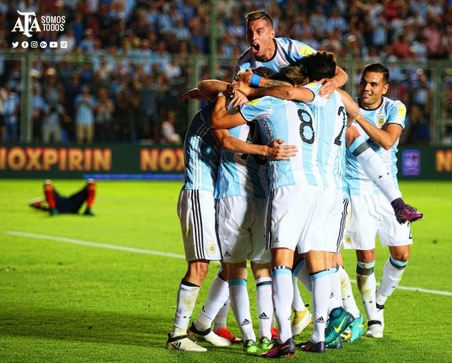 Argjentina s'lëviz nga kreu