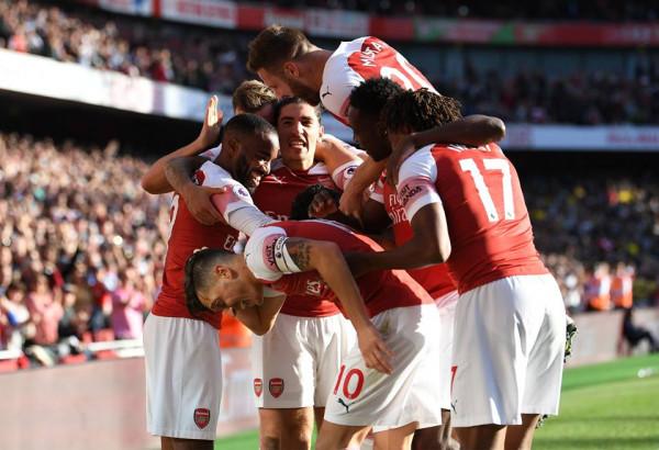 Ozil gol+asist, Auba 2, Arsenal fiton me përmbysje