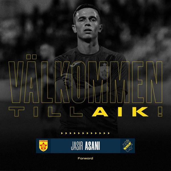 Prej Partizanit në AIK të Suedisë