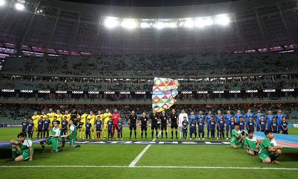 Azerbajxhani vs. Kosova, notat e lojtarëve