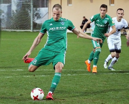 Bekim Balaj shënon ndaj Spartakut