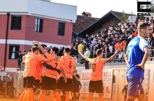 Ermal Krasniqi asist e gol, Ballkani lider duke e mposhtur Prishtinën