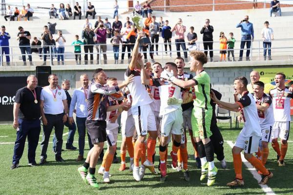 Juniorët e Ballkanit, kampionë të Kosovës