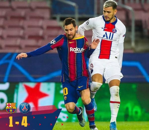 Barcelona-PSG, notat e futbollistëve