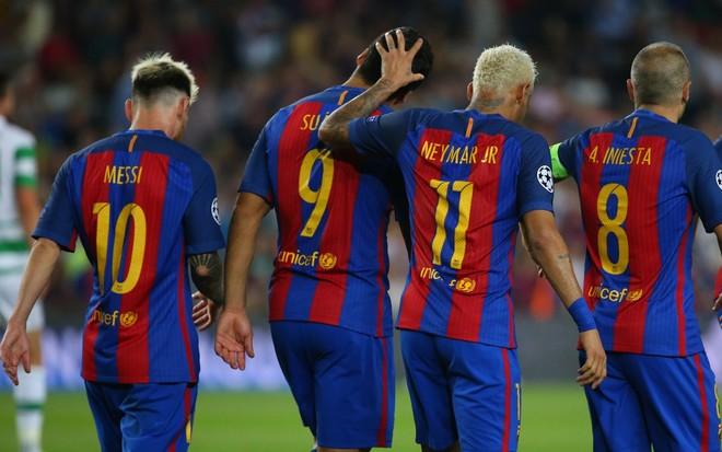 El Pistolero ndihmon në fitoren e Barçës