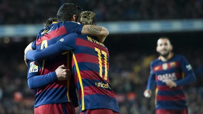 Suarez shpëton Barcelonën nga humbja