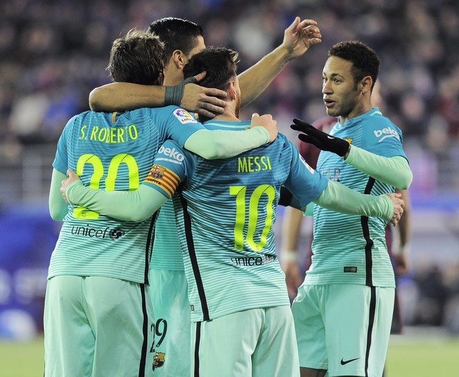 Barça s'gabon, 'ngacmon' Realin lider