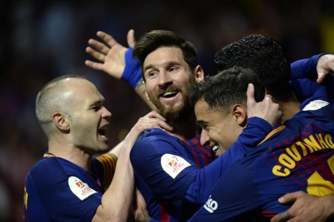Barcelona deklason Sevillën dhe fiton Kupën e Mbretit
