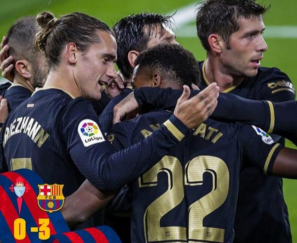Me 10 lojtarë, Barça fiton përsëri