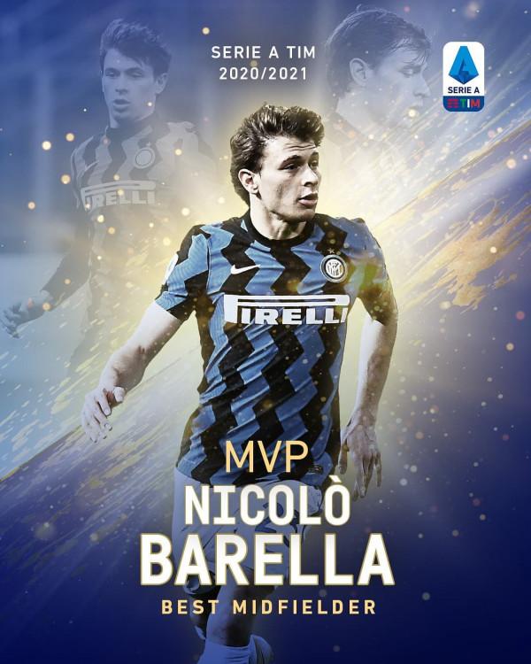 Nico Barella, mesfushori më i mirë në Serie A