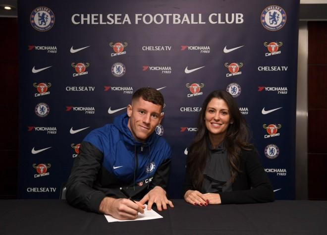 Chelsea zyrtarizon Ross Barkleyn