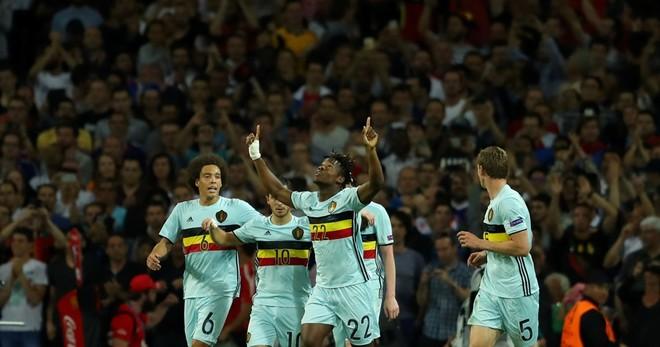Shpërthen Eden Hazard, Belgjika në çerekfinale