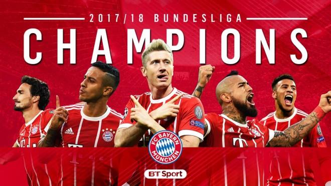 I gjashti rresht, Bayerni përsëri kampion