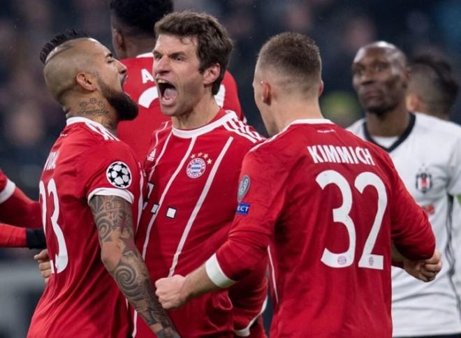Bayerni lehtësisht në çerekfinale