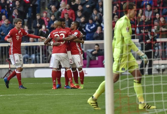 Bayerni i pamëshirshëm, 'shkatërron' Hamburgun e Mavrajt