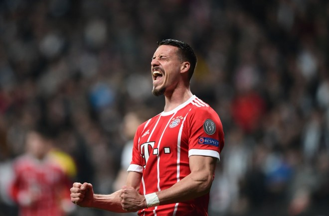 Bayerni, çerekfinalisti i parafundit