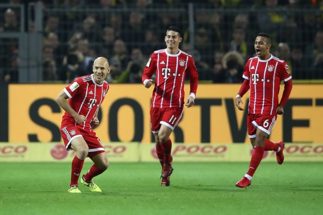 Bayerni shkel Dortmundin, forcon kreun