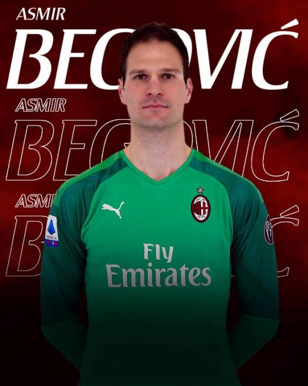 Asmir Begovic rossoner