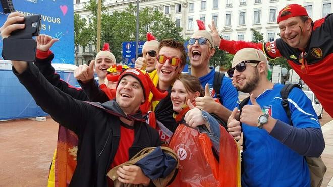 Formacionet zyrtare: Belgjika-Italia