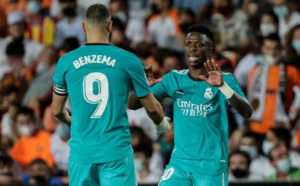 Vini e Benzema, kombinim fatal! Real përmbys Valencian në minutat e fundit