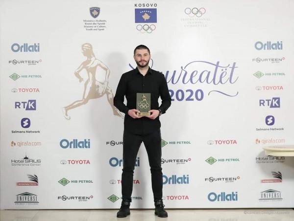 Dardan Berisha, sportist i vitit 2020 nga KOK