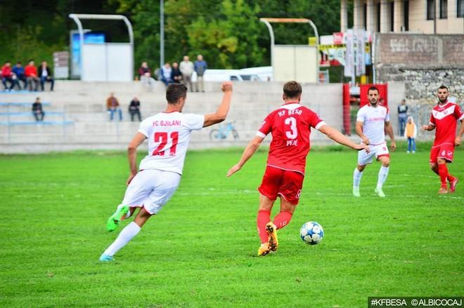 Formacionet zyrtare: Gjilani - Besa