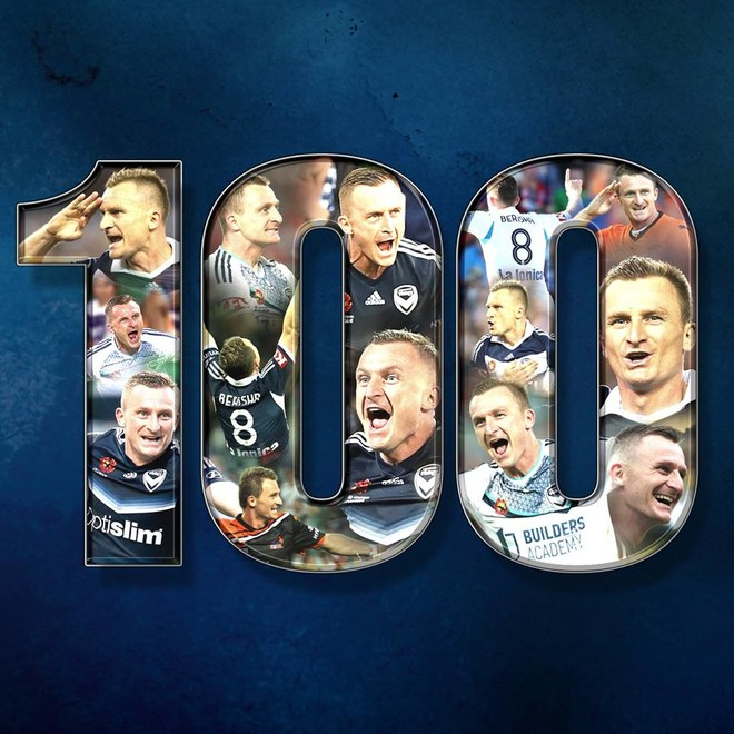 Besart Berisha 100! Super rekordi i sulmuesit kosovar