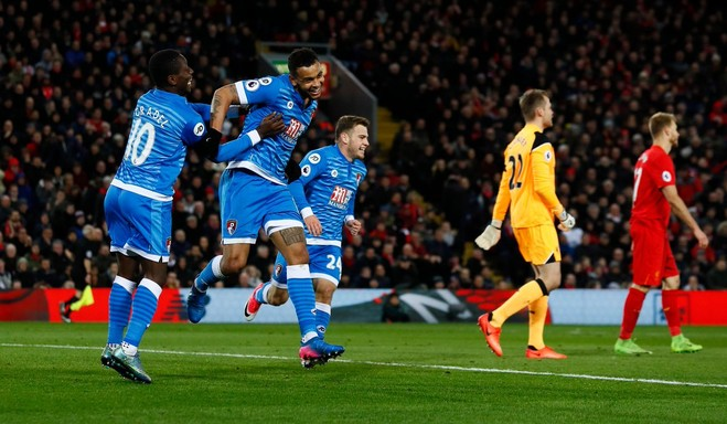 Liverpool gabon ndaj Bournemouthit