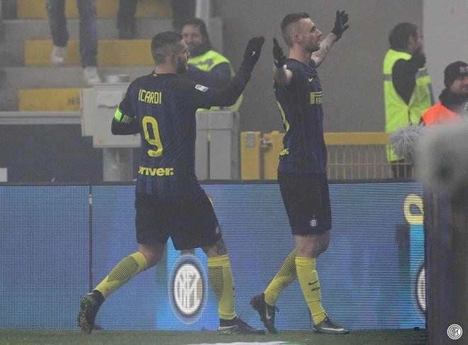 Kombinimi Mario - Brozovic çon Interin te fitorja