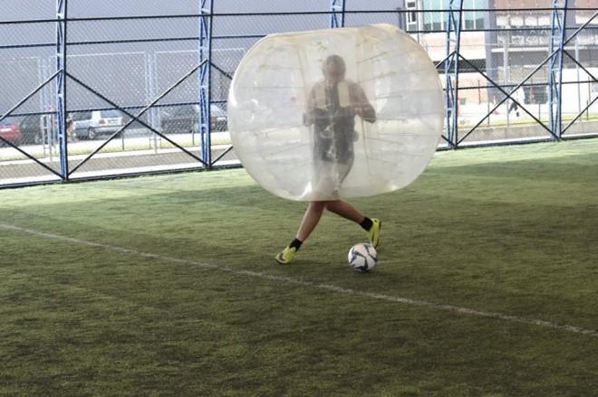 Bubble Soccer atraksion shoqëror