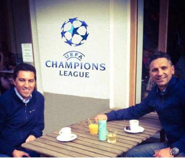Nga rrugët e Gjakovës në Champions League!