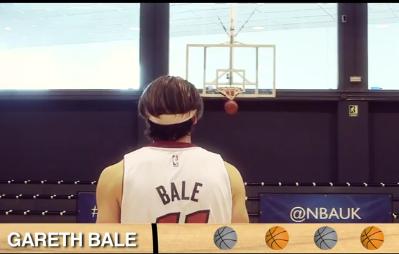 Nëse Gareth Bale luan basketboll…