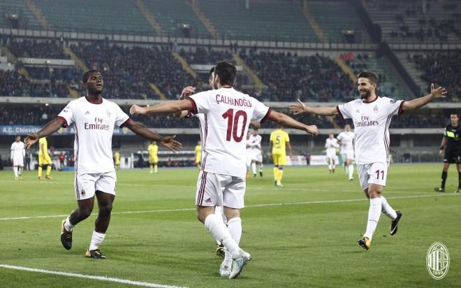 Pas 5 ndeshjeve, Milan i kthehet fitores me goleadë