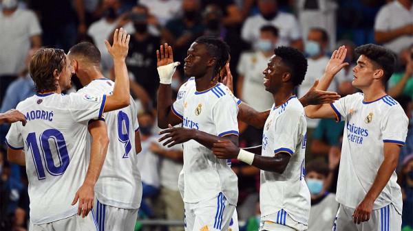 Camavinga debuton me gol, Reali fiton me përmbysje