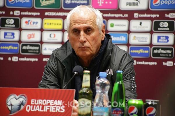 Challandes: Nuk e luajtëm lojën tonë, Çekisë urime kualifikimi!