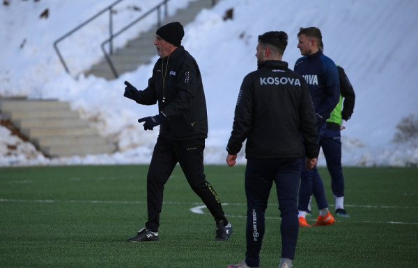 Zhvillohet stërvitja para ndeshjes, Kosova e gatshme
