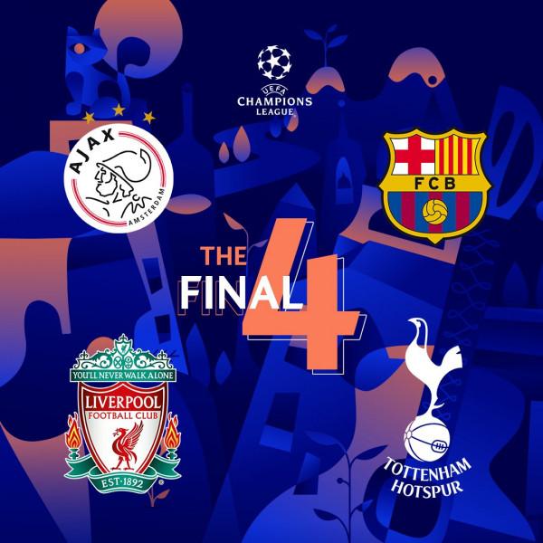 Kur luhen gjysmëfinalet e Champions League?